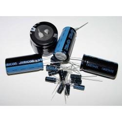 Capacitor Electrolytic 220uF 400V 85°C