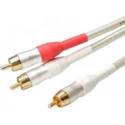 White Peal Series - Audio Splitter Lead