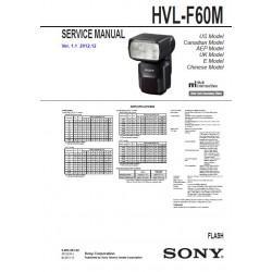 Sony HVL-F60M Service Manual