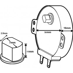 Microwave Turntable Motor