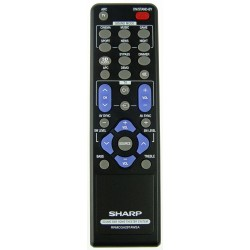 Sharp Audio RRMCGA297AWSA Remote