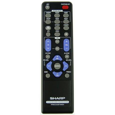 Sharp Audio RRMCGA297AWSA Remote