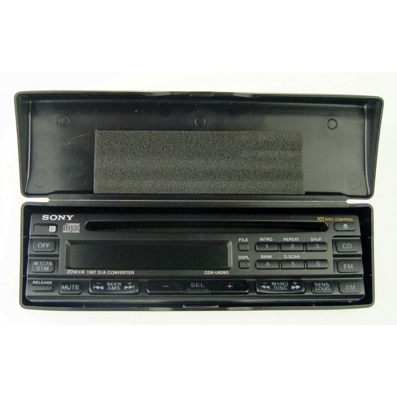 Sony Car Radio Detachable Face For CDX-U6260