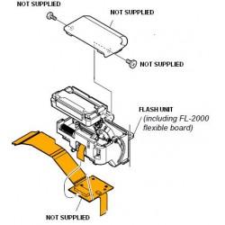 Sony Flash Unit for DSC-HX50V - SILVER