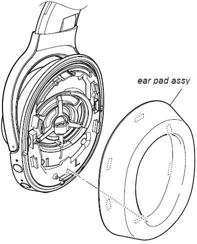 sony headphone ear pad lime yellow sox25923031 mdr 100abn Sony 40 Tv