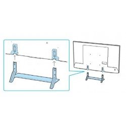 Sony Television KD65X9000E Complete Desktop Stand