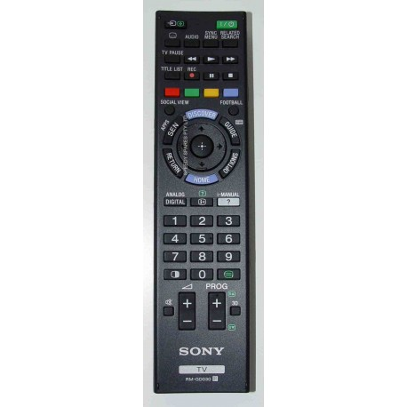 Sony RM-GD030 Television Remote