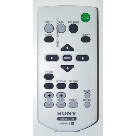 Sony RM-PJ8 Projector Remote