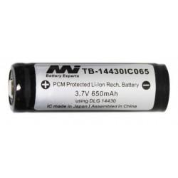 Battery 14430 - 650mAH