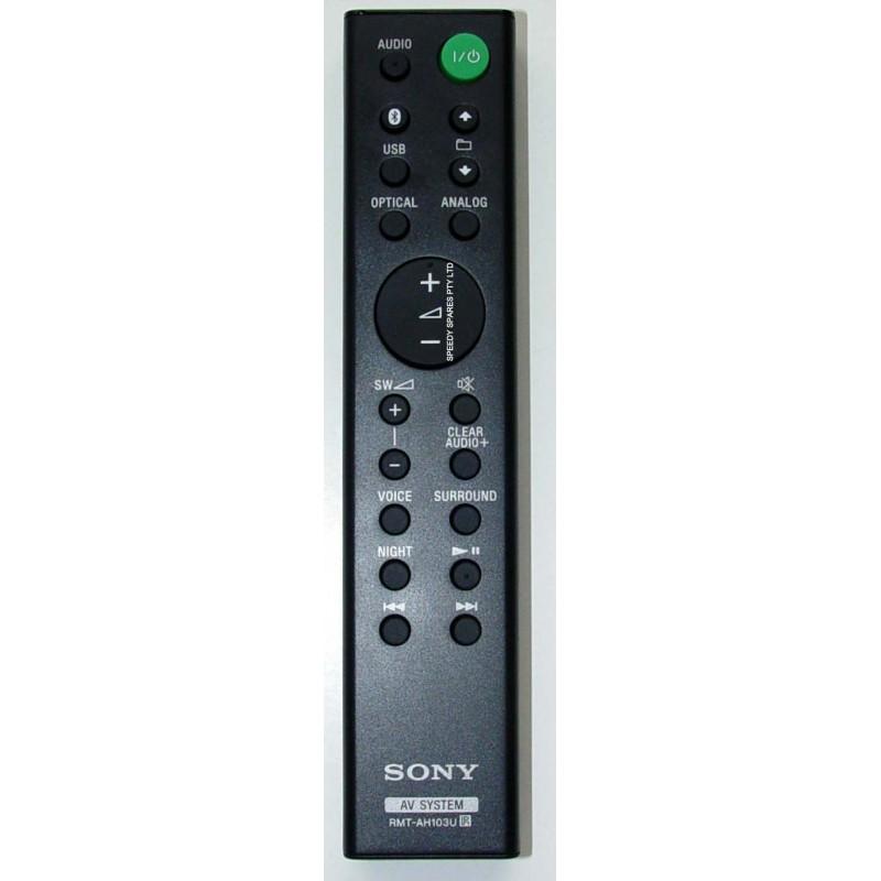 Sony Rmt Ah103u Audio Remote 149303011