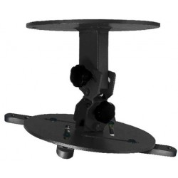 15Kg PROJECTOR CEILING MOUNT BRACKET - BLACK