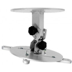 15Kg PROJECTOR CEILING MOUNT BRACKET - SILVER