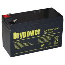 Drypower LEAD-ACID Battery 12V 7.2AH NBN Battery