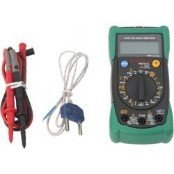 Pocket Size Digital Multimeter with Temperature