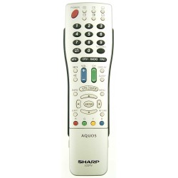 Sharp Television GA707WJSA Remote