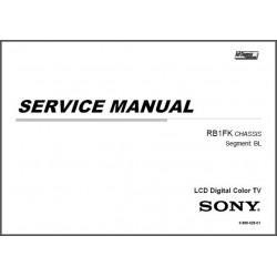 Sony KDL-50R550A / KDL-60R520A / KDL-60R550A / KDL-70R550A TV Service Manual