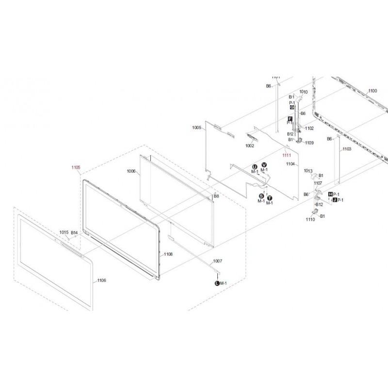 Svf1521fcgb Sony Vaio Computer Exploded Diagram