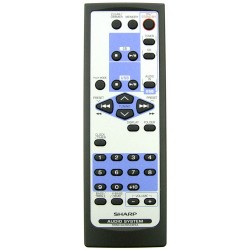 Sharp Audio RRMCGA165AWSA Remote