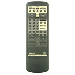 Sharp Audio RRMCG0275AFSA Remote