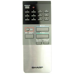 Sharp RRMCG0128GESA VCR Remote