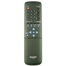 Sharp Television G1196CESA Remote