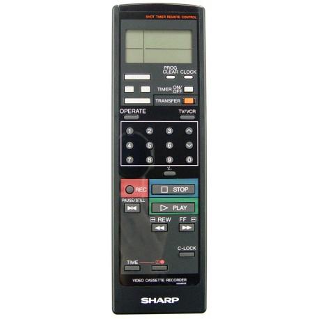 Sharp G0298GE VCR Remote