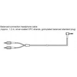 Sony Balanced Headphone Cable 4.4mm Plug