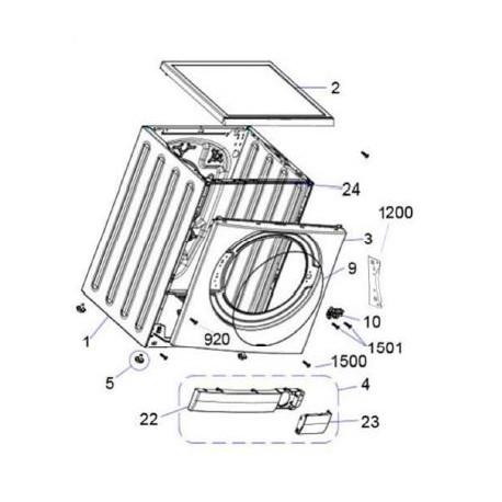 esv80ha sharp washing machine exploded diagram. Black Bedroom Furniture Sets. Home Design Ideas