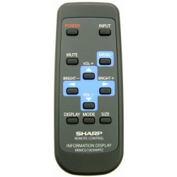 Sharp Television / Display Monitor G1003MPPZ Remote