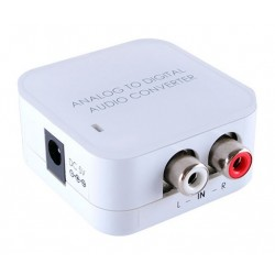 Audio Analogue RCA to Digital Optical / Coax Converter