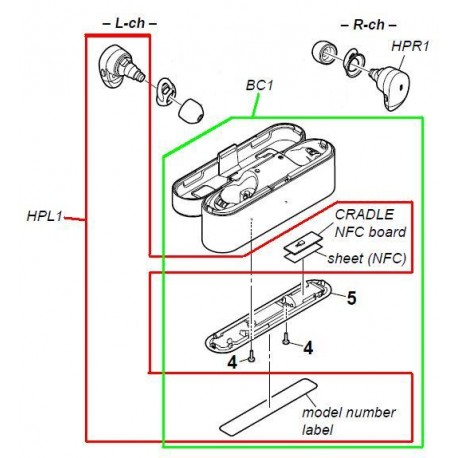 Sony Headphone Wiring Diagram from www.speedyspares.com
