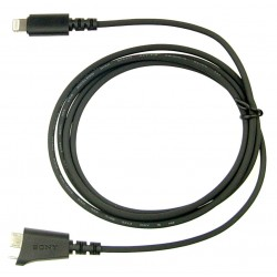 Sony Micro A to Lightning cable for MDR1ADAC