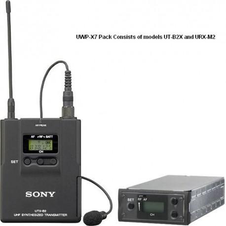UWP-X7 Accessories List ( UT-B2X & URX-M2 )