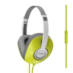 KOSS UR23i HEADSET WITH MICROPHONE - LIME GREEN