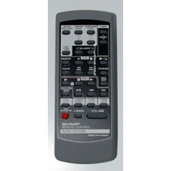Sharp Audio RRMCG0214AWSA Remote