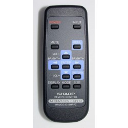 Sharp Touch Information Display Panel RRMCG1016MPPZ Remote