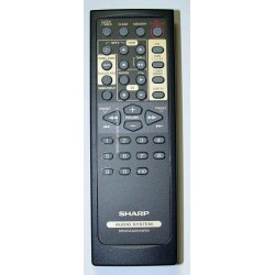 Sharp Audio RRMCGA094AWSA Remote