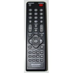 Sharp Audio RRMCGA292AWSA Remote