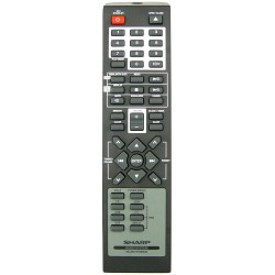 Sharp Audio 92L8501R100246 Remote