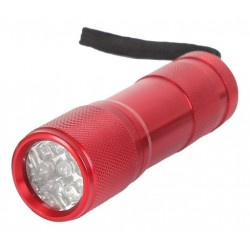 Aluminium 9 LED Torch