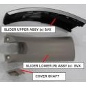 Sony MDR-1000X Headphone RIGHT Slider Kit - BLACK