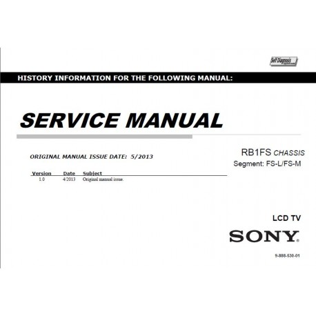 Sony KD-55X9004A / KD-65X9004A TV Service Manual
