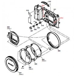 NEX-5T / NEX-5TL / NEX-5TY Sony Camera Exploded Diagram