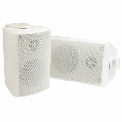 "3"" 2 Way Outdoor / Indoor Speaker - WHITE"