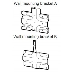 Sony BDV-L800 Wall Mounting Brackets