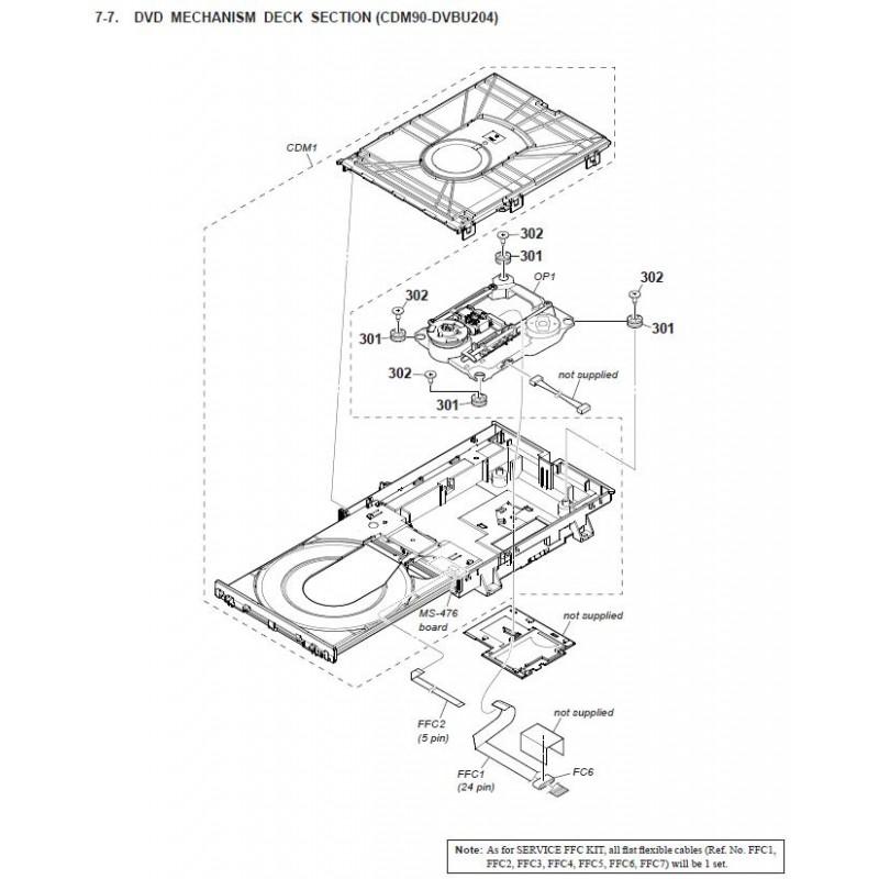 Vjcw 6282  Panasonic Sa Vkx20 Diagram Download Vkx20
