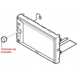 Sony Front Panel for XAV-V630BT