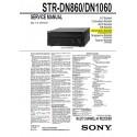 Sony STR-DN860 / STR-DN1060 Service Manual