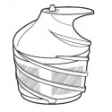 Sharp Slow Juicer Screw Assy for EJ-CP10BJ-W / EJ-CP10BJ-R