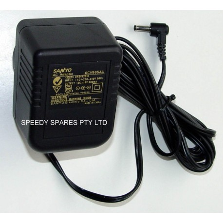 Sanyo 6CV565AU Audio AC Adaptor